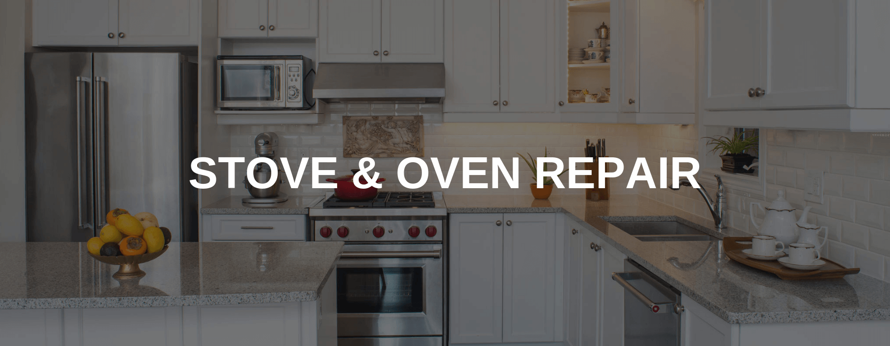 stove repair missouri city